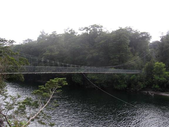 14. Pyke River Swingbridge