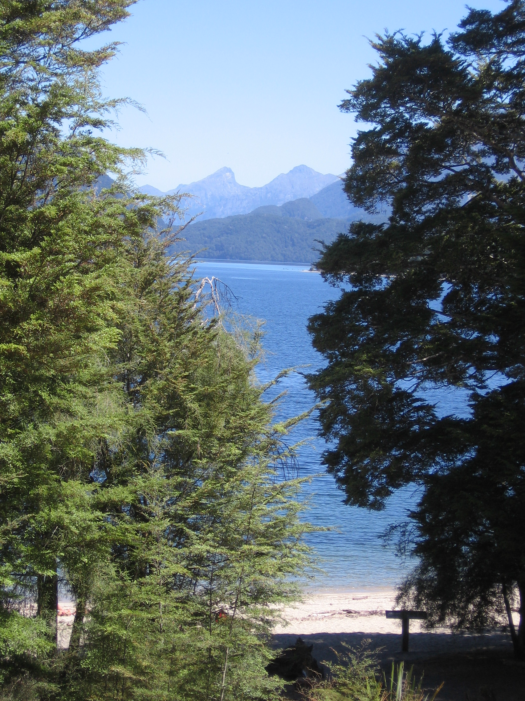 23. Lake Manapouri, from Moturau Hut